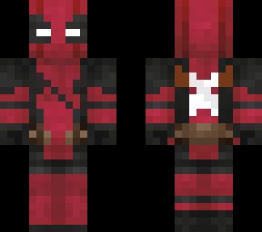 Deadpool Minecraft Skins - Deadpool skins fur minecraft