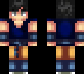 Goku Minecraft Skins - Skin para minecraft pe goku