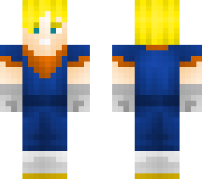 Saiyan Super Goku Dragon Ball Z Minecraft Skins
