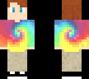 34010625560 tie dye boy rainbow