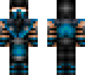 sub zero minecraft skins