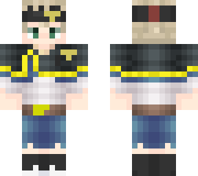 Clover Minecraft Skins Fwk would win my man one shoted a demon god and has a 4 leaf grimoire , a mana store that rivals licht in his prime. minecraft skins