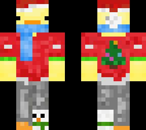 Christmas Minecraft Santa.Duck Santa Christmas Minecraft Skins