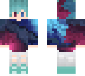 blue eye boy minecraft skins