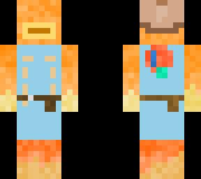 Fish Stick | Minecraft Skin