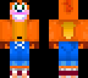 Crash Bandicoot | Minecraft Skins