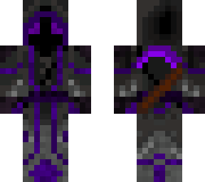 Night Blade - Unblocked craft - Death's skin | Minecraft Skin