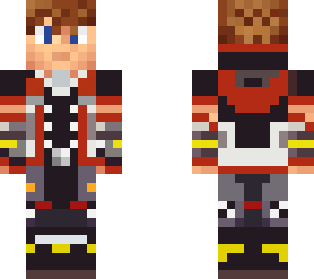 Kingdom Hearts Minecraft Skins