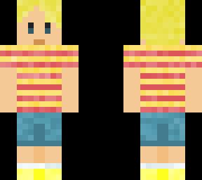 Mother 3 Earthbound Lucas | Minecraft Skins