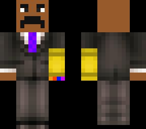 Steve Harvey With Infinity Gauntlet | Minecraft Skin