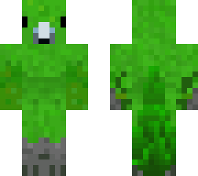 Red Parrot   Minecraft Skins