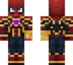 iron spider (with infinity gauntlet)