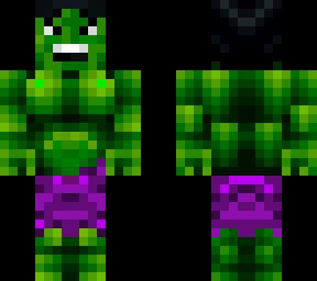 minecraft hulk skins