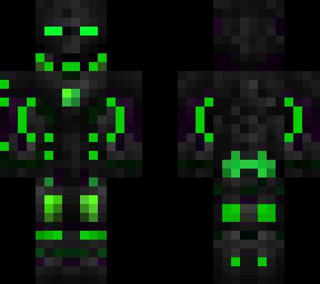 Green Iron Man | Minecraft Skins