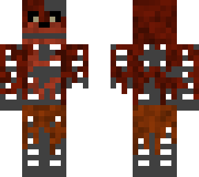 minecraft skin phantom foxy