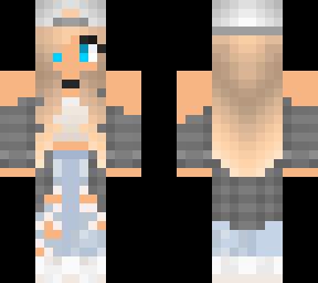 Tomboy Choker Girl Minecraft Skins
