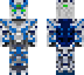 Gundam Unicorn | Minecraft Skins