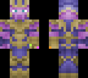Infinity Gauntlet | Minecraft Skins