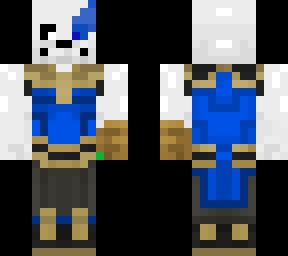 Sans Eye | Minecraft Skins