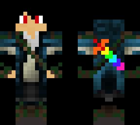 Rainbow Sword | Minecraft Skins