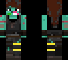 Ghoul Trooper Fortnite Skin Minecraft Skin