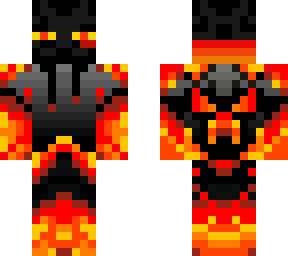 really cool fire enderman :d