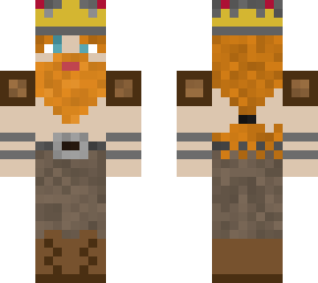my viking king skin