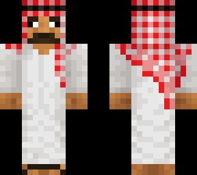 Saudi Minecraft Skins