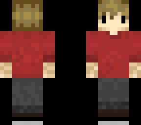 Backwards Grian Minecraft Skin