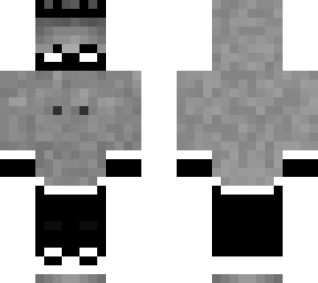 ghost guy with black crown