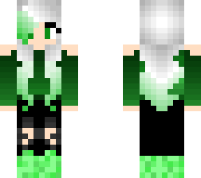 cute emerald girl fixed (last time)