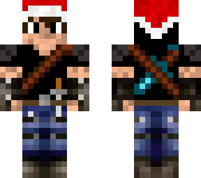 seriuos steve re-skin (christmas version)
