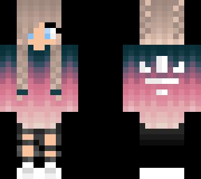 Cute Tumblr Tomboy Minecraft Skins