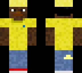 Denver Nugget Jeans Minecraft Skin