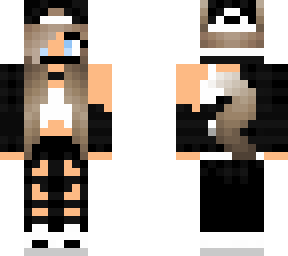 Hot Wolf Girl Minecraft Skins