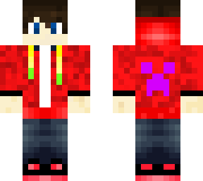 Male With Hoodie Minecraft Skins