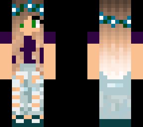 Girl Skin Template Minecraft Skins