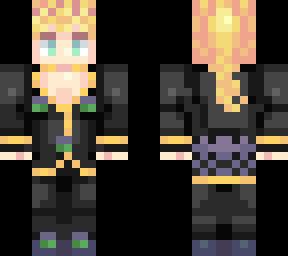 Giorno Giovanna Boss | Minecraft Skin