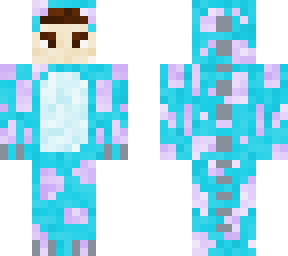 Sully Monsters Inc Onesie Minecraft Skin