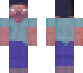 Transparent Steve Minecraft Skins