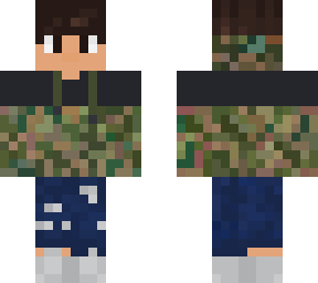 camo and ripped jeans v.2!