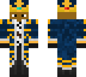 navy royal robes