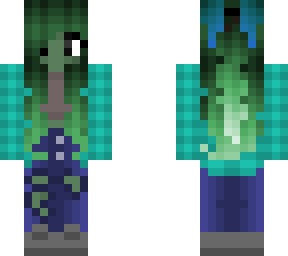 zombie version of my skin :d