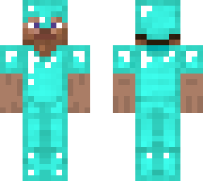 64x32 diamond armor steve