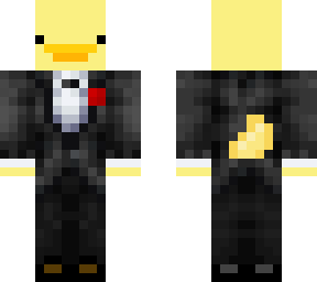duck with tux