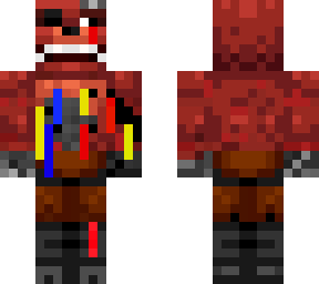 my version of withered foxy (base by andrejklol)