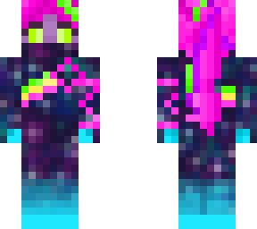 fortnite crew galaxy skin | minecraft skin