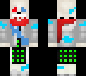 Sad Fatal Error Minecraft Skin