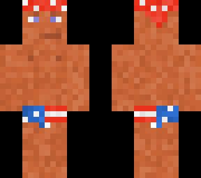 Ricardo Milos fixed | Minecraft Skin