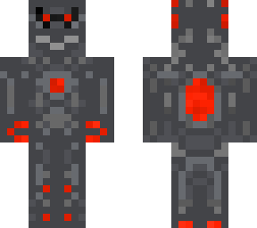 t-800 minecraft skin (made for a contest)